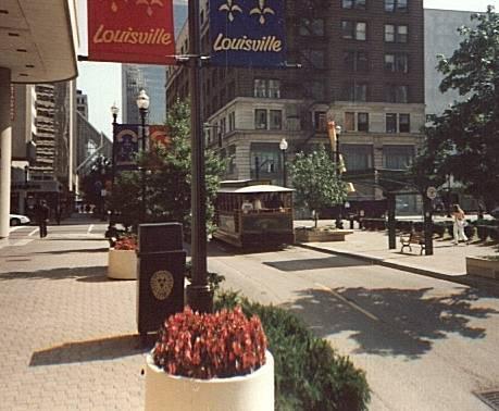 Louisville street scene