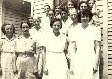 Pike County housekeeping aides program - late 1930's or early 1940's